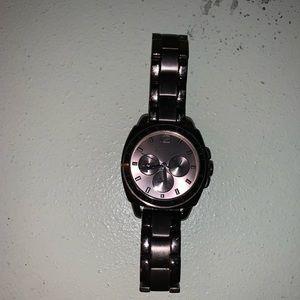 Coach chocolate watch